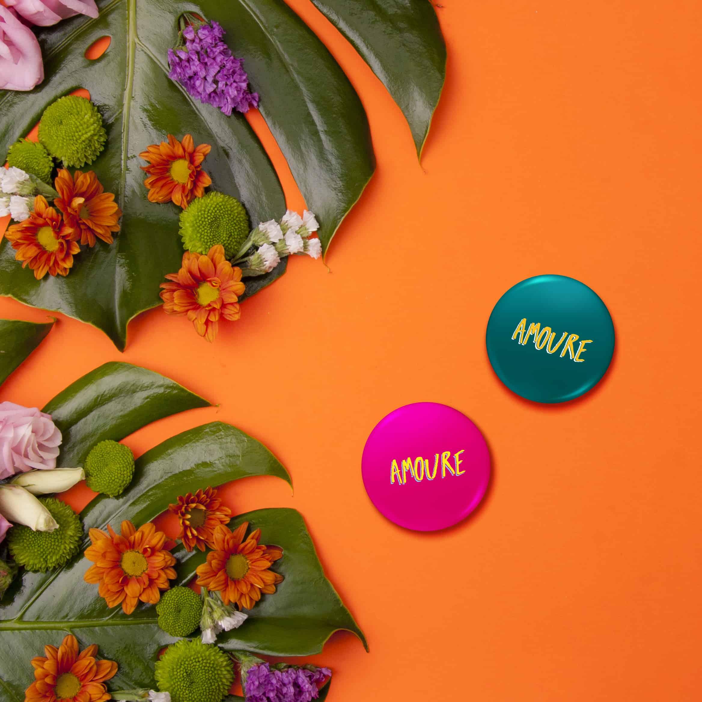 photo de badges amoure